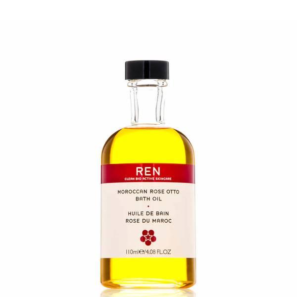 REN 摩洛哥玫瑰沐浴油 110ml