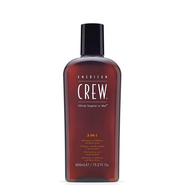 American Crew 美国队员三合一洗浴装 450ml