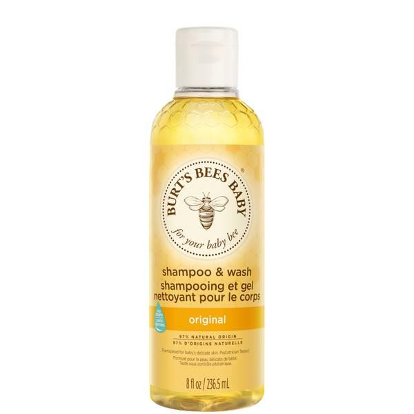Burts Bees小蜜蜂婴儿全能洗发水/沐浴液 (235ml)