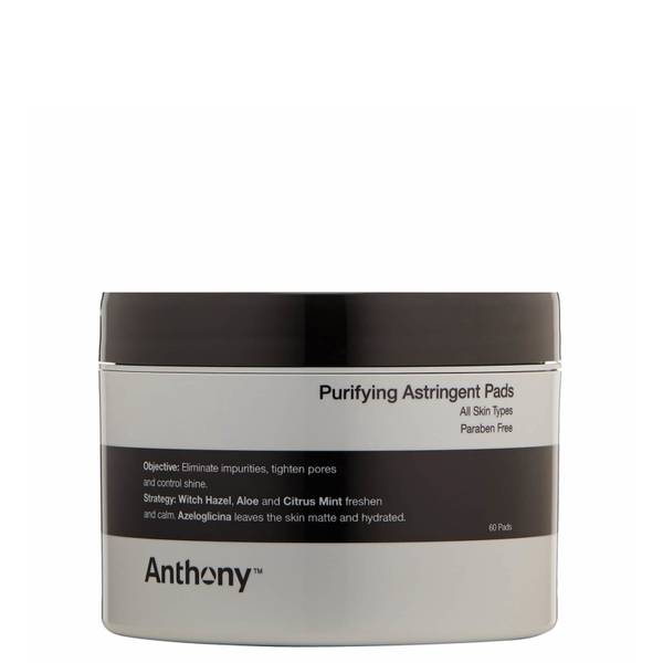Anthony Purifying Astringent Pads