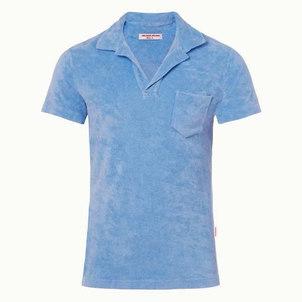 Terry Towelling 系列毛巾布度假风 度假风Polo 衫 - 海滨蓝