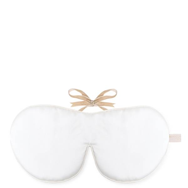 Holistic Silk抗衰老眼罩(有香味)- 白色
