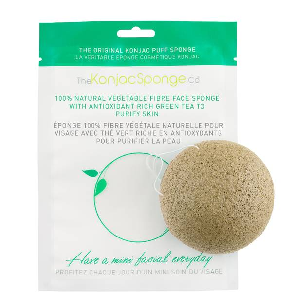 魔芋海绵 | 绿茶洁面海绵