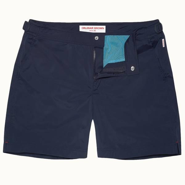 Bulldog Sport 系列运动游泳短裤-海军蓝