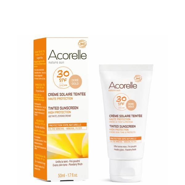 Acorelle 有机系列带色防晒霜 50ml | 金黄色泽 SPF30