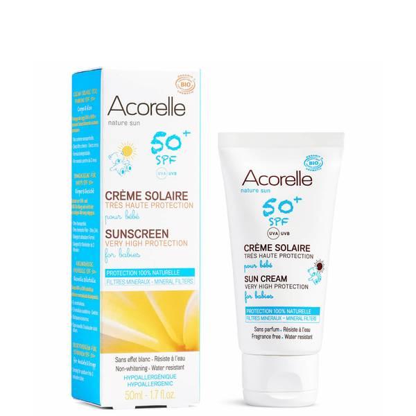 Acorelle 有机系列婴儿防晒霜 50ml | 3 个月及以上使用 SPF50