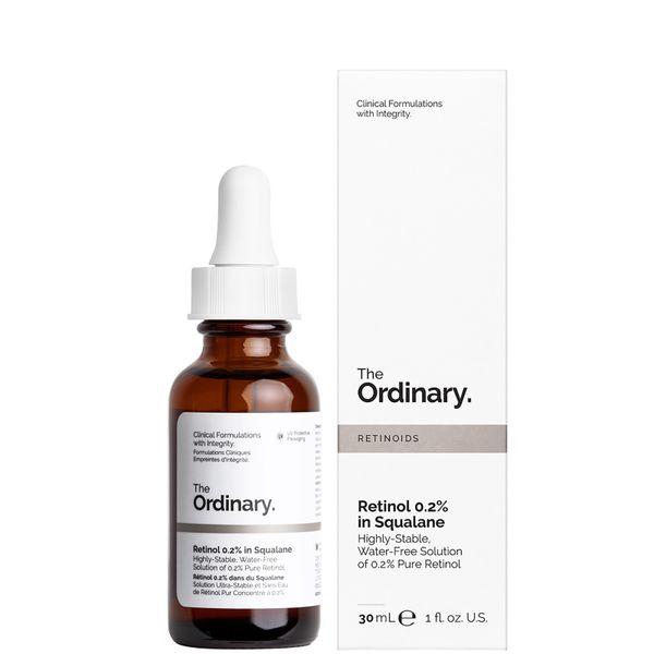 The Ordinary Retinol Serum 0.2% in Squalane 30ml