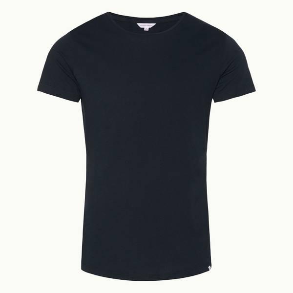 Ob-T 系列定制款圆领 T 恤-海军蓝