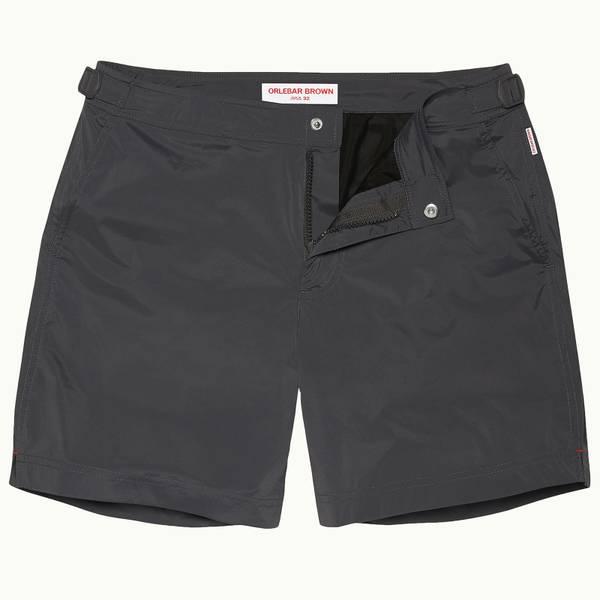 Bulldog Sport 系列运动游泳短裤-檀木黑