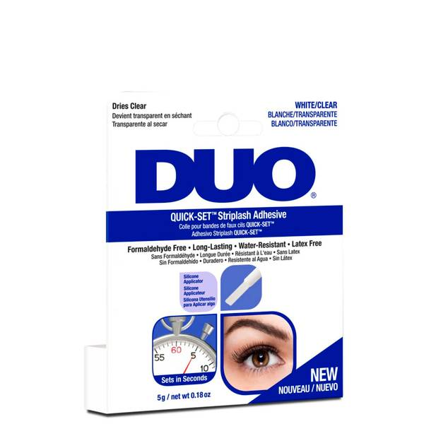 Duo 快干型假睫毛胶水 5g | 透明色