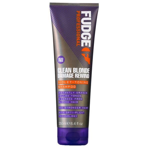 Fudge 净色损伤修护洗发水 250ml | 金色头发适用