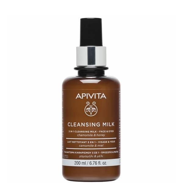 APIVITA 三合一卸妆清洁乳 200ml | 面部和眼部用