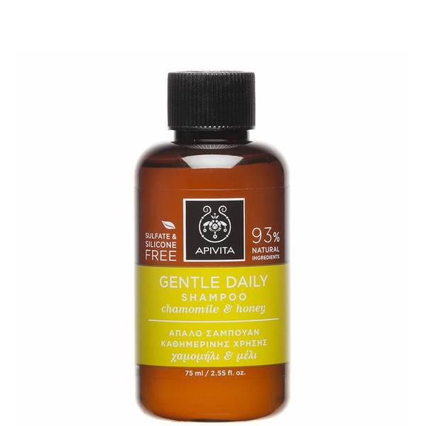 APIVITA 全面护发系列日常温和洗发水迷你装 75ml | 德国洋甘菊和蜂蜜