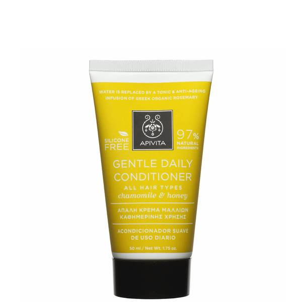 APIVITA 全面护发系列日常温和护发素迷你装 50ml | 德国洋甘菊和蜂蜜丨适于所有发质