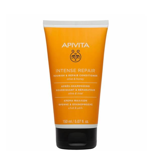 APIVITA 全面护发系列干枯受损发质用滋养修复护发素 150ml | 橄榄和蜂蜜