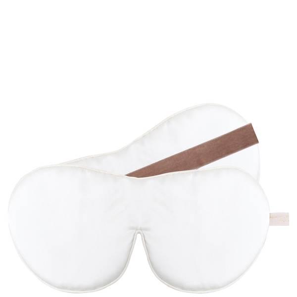 Holistic Silk 单头带真丝抗衰老眼罩 - 白色
