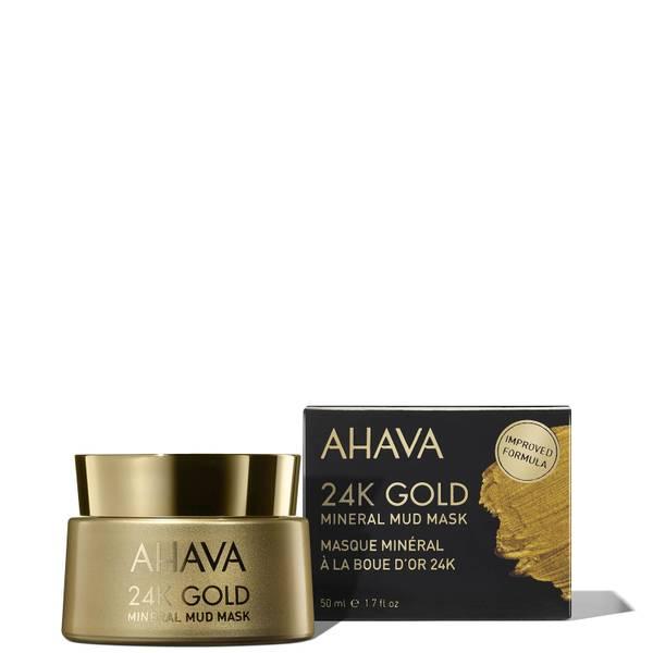 AHAVA 24K 金矿物泥膜 50ml