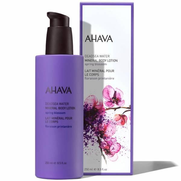 AHAVA 矿物质身体乳 250ml | 春日花朵