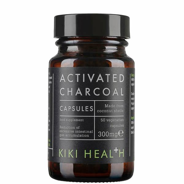KIKI Health 活性炭植物软胶囊 | 50 粒