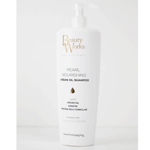 Beauty Works 珍珠滋养摩洛哥坚果油洗发水 1L丨大容量装