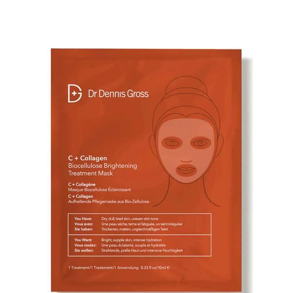 Dr Dennis Gross Skincare C+胶原蛋白生物纤维素亮肤面膜 | 1 片