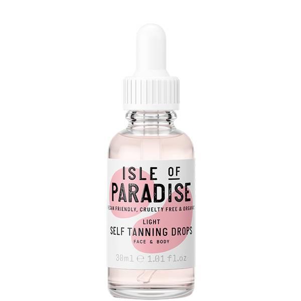 Isle of Paradise 自助美黑滴液 30ml | 浅色