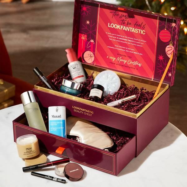 2021 LOOKFANTASTIC 圣诞宝盒(价值超过3400元)