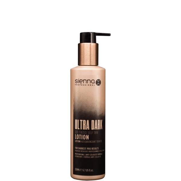 Sienna X Ultra Dark Q10 Tinted Self Tan Sleep Lotion 200ml