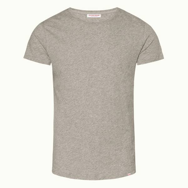 Ob-T 系列定制款圆领 T 恤-灰色