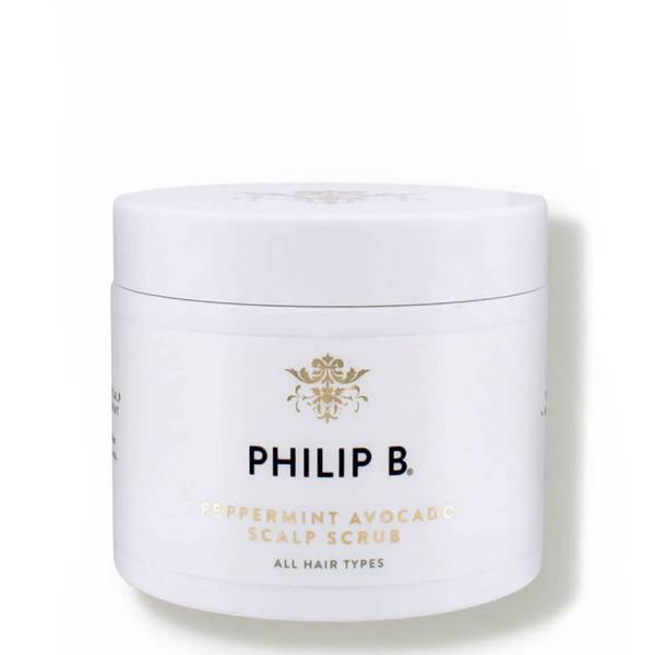 Philip B Peppermint Avocado Scalp Scrub 236ml