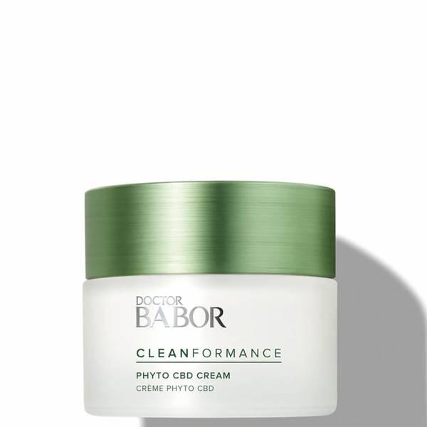 BABOR Cleanformance CBD 植物 24 小时面霜 50ml