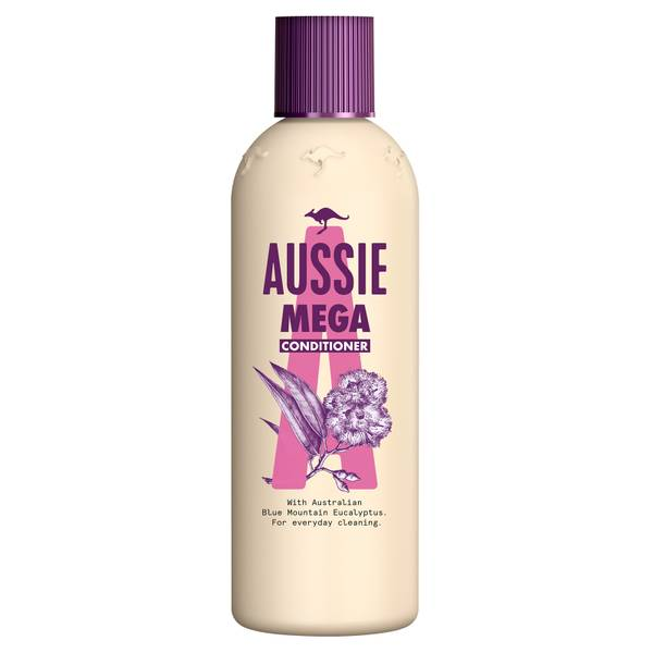 Aussie Mega Hair Conditioner for Daily Conditioning 250ml