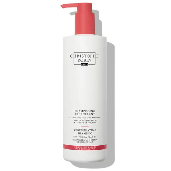 Christophe Robin Regenerating Shampoo with Prickly Pear Oil 500ml