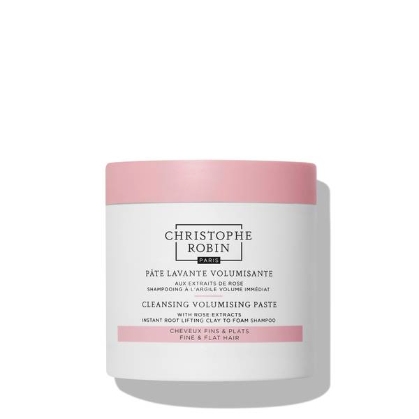 Christophe Robin Cleansing Volumising Paste with Pure Rassoul Clay and Rose 250ml