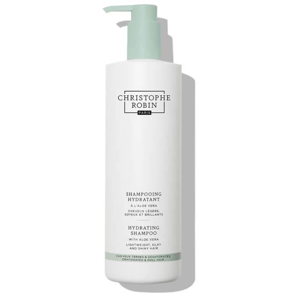 Christophe Robin Hydrating Shampoo with Aloe Vera 500ml