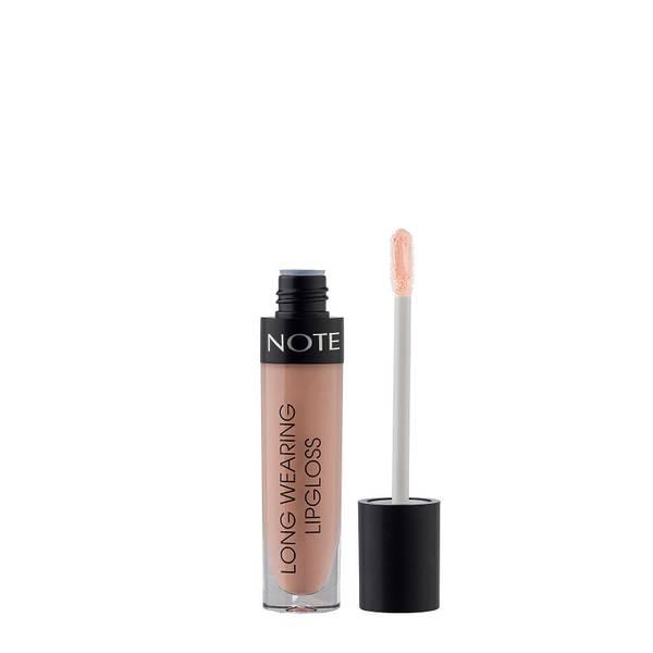 Note Cosmetics Long Wearing Lip Gloss 6ml (Various Shades)