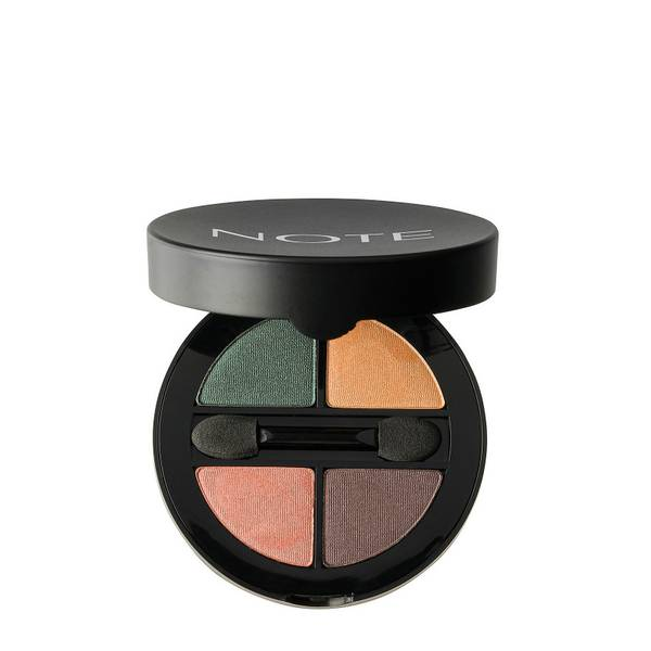 Note Cosmetics公司Luminous Silk Quattro眼影 - SQE-2