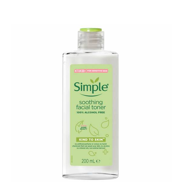 Simple Kind to Skin Facial Toner Soothing 400ml