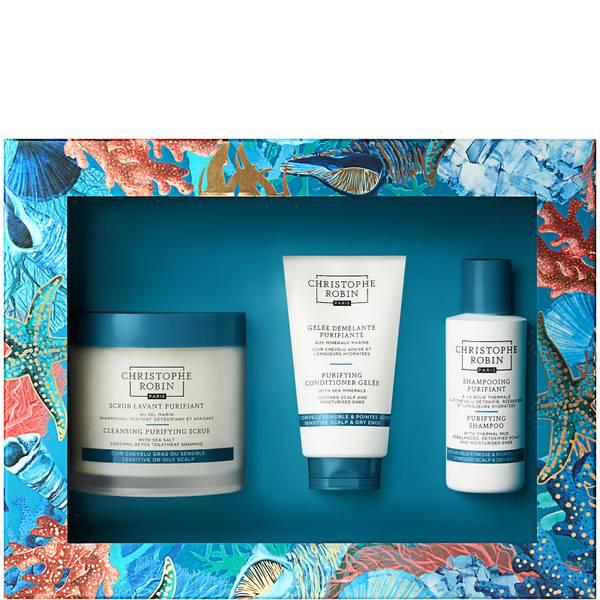 Christophe Robin New Detox Ritual Gift Set