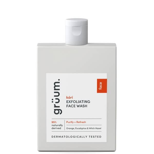 grüum Kóri Exfoliating Face Wash 120ml