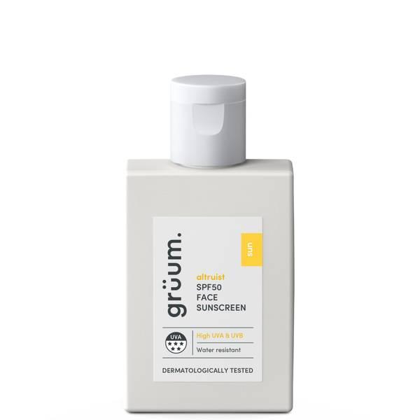 grüum SPF50 Face Sunscreen 50ml