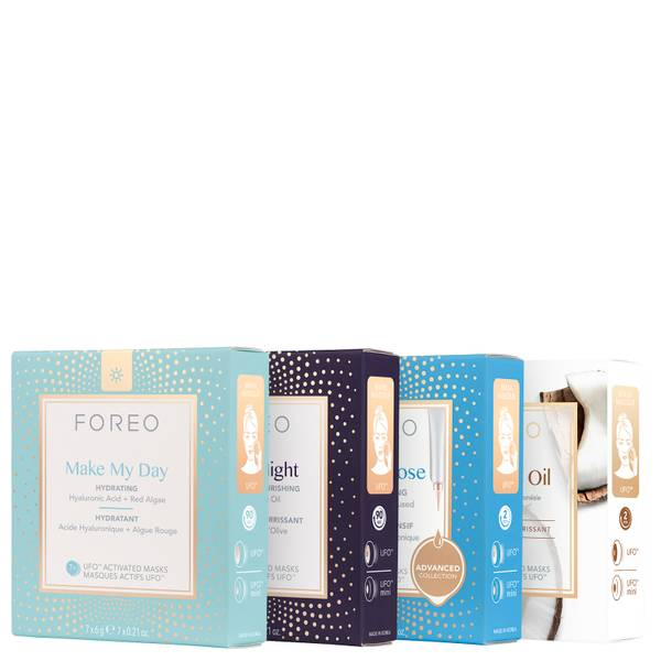 FOREO UFO Dry and Dehydrated Skin Mask Bundle