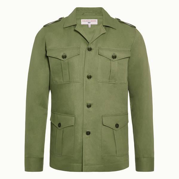 Bond Safari Jacket 007 系列短装夹克