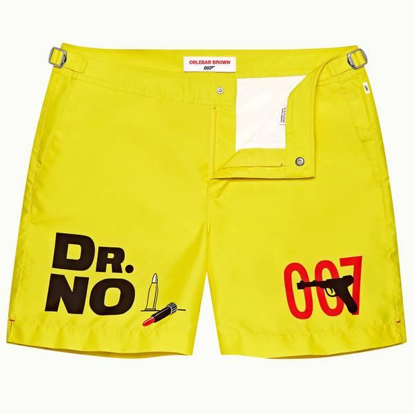Bulldog 007 之《诺博士》电影系列中长款游泳短裤