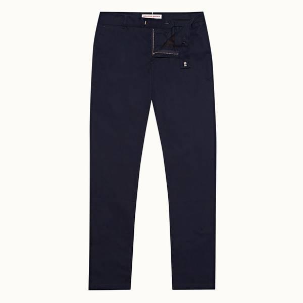 Fuller 系列定制款棉质长裤 - 海军蓝