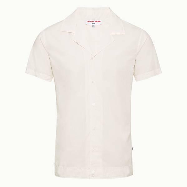 Golden Gun Shirt 007 系列开领衬衫-象牙白