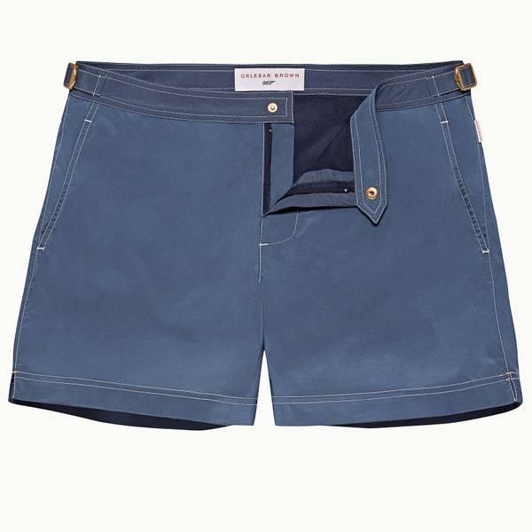 Goldfinger Swimshort 007 系列短款游泳短裤 -蓝色