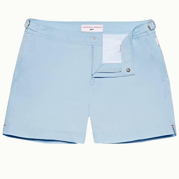 Skyfall Setter 007 系列短款游泳短裤 - 天蓝色