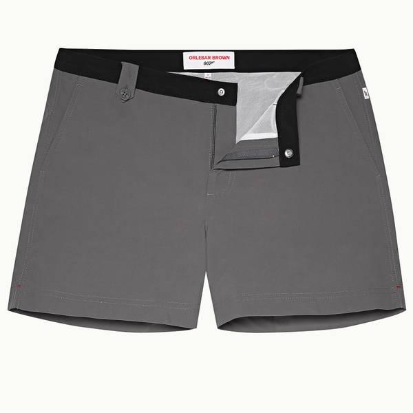 Thunderball Swimshort 007 系列短款游泳短裤 - 黑色