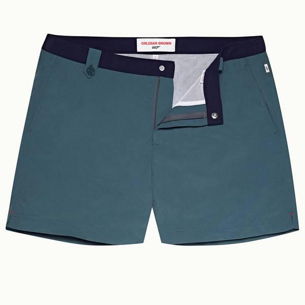 Thunderball Swimshort 007 系列短款游泳短裤 - 海军蓝/军蓝色